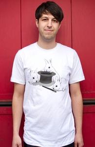 Don't Trust In Cute Bunnies, Matheus' designs + Threadless Collection