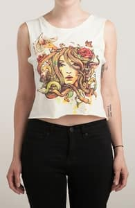 Beauty Before Death, Girly Tees + Threadless Collection