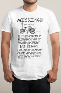 Missing!!!, Guys Tees + Threadless Collection