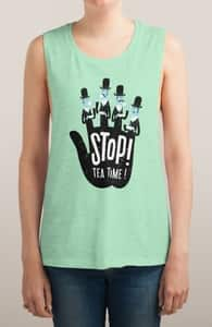 Stop! Tea Time!, Girly Tank Tops + Threadless Collection