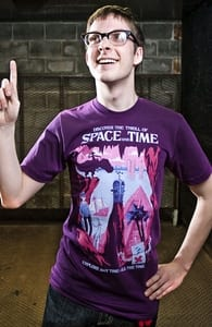 Space and Time, Justin's Designs + Threadless Collection