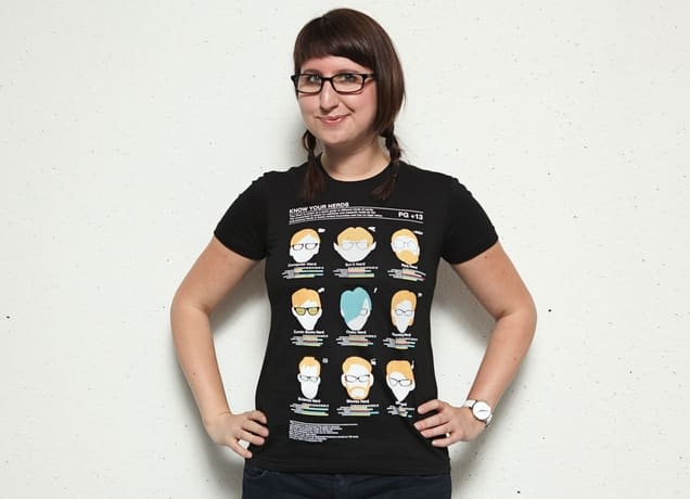 Know Your Nerds, a cool t-shirt by adam antium on Threadless