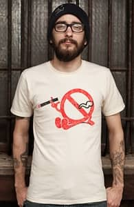 Smoke Break, Phil's Designs + Threadless Collection