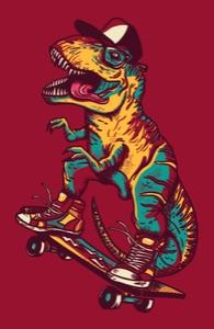 Tyrannosaurus RAD, Guys Tank Tops + Threadless Collection