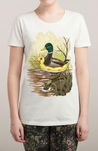 Duck in Training, Animals & Nature + Threadless Collection