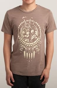 Steampunk 1852, Tattoo Designs + Threadless Collection