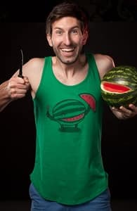 A Happy Slice of Life, Guys Tank Tops + Threadless Collection