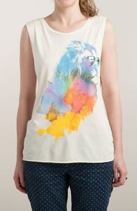 Sunny Leo, Girly Tank Tops + Threadless Collection