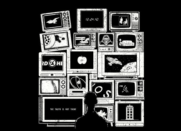 Tv Addict By Lawrence Villanueva Threadless