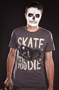 Skate 'Til You Die, Phil's Designs + Threadless Collection