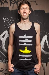 Know Your Submarines, Guys Tank Tops + Threadless Collection