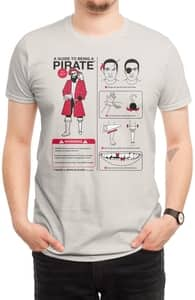 A Guide to Being a Pirate, Funny + Threadless Collection