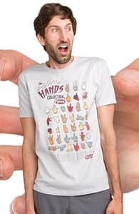The Body Snatcher Hands Collection, Guys Tees + Threadless Collection