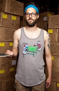 Beer Pong, Guys Tank Tops + Threadless Collection