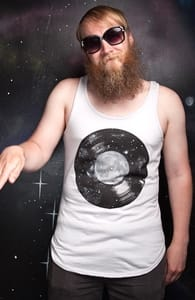 Galaxy Tunes, Guys Tank Tops + Threadless Collection