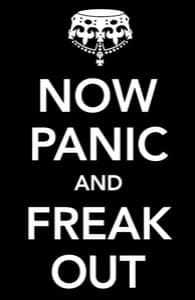 Now Panic and Freak Out: Large Laptop Case, 17 Inch Laptop Case + Threadless Collection