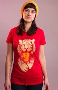 Tigress, Sale! + Threadless Collection