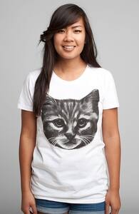 Everybody Wants to be a Cat, New and Top Selling Animal T-Shirts + Threadless Collection