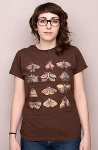 Moth Collector, David's Designs + Threadless Collection