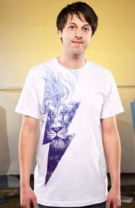 King of the Clouds, David's Designs + Threadless Collection