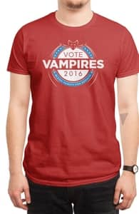 Vote Vampires!, Pop Culture + Threadless Collection