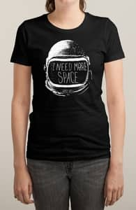 Never Date an Astronaut, Best Ladies T-Shirts + Threadless Collection