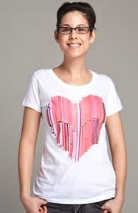51 Love Stories, Select Girly Pima Tee, Select Girly on Sale + Threadless Collection