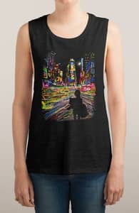 The City That Never Sleeps, Girly Tank Tops + Threadless Collection