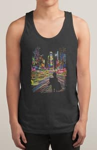The City That Never Sleeps, Guys Tank Tops + Threadless Collection