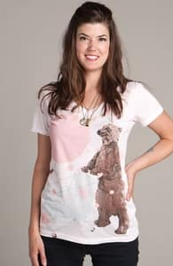 Bear Market: Select Threadless Girly Pima V-Neck, Select Girly on Sale + Threadless Collection