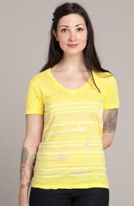 Duck Trails: Select Threadless Girly Pima V-Neck, Select Girly on Sale + Threadless Collection