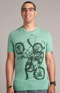 Bike Chaos: Select Threadless Guys Tri-Blend Tee, Select Guys on Sale + Threadless Collection
