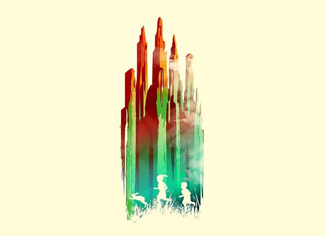 Journey to Emerald City by Budi Satria Kwan