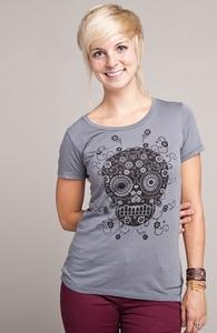 Sugar Skull: Select Threadless Girly Pima Tee , Sale! + Threadless Collection