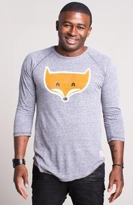 A Fox with Socks: Threadless Baseball Tee, Select Guys on Sale + Threadless Collection