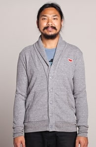 A Fox with Socks: Threadless Guys French Terry Shawl Cardigan, Select Guys on Sale + Threadless Collection