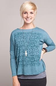 Urban Fabric: Threadless Long Sleeve Dolman, Select Girly on Sale + Threadless Collection
