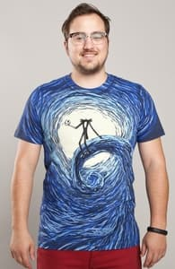The Starry Nightmare, The Nightmare Before Christmas + Threadless Collection
