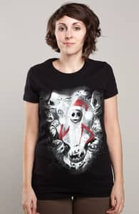 Jack & Friends, The Nightmare Before Christmas + Threadless Collection