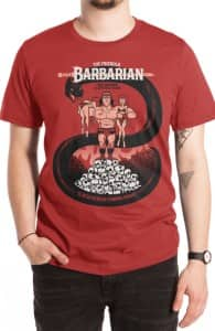 The Barbarian, Justin's Designs + Threadless Collection