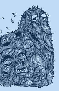 Hairy Street, Shop All Sesame Street Designs + Threadless Collection
