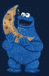 Cookie Moon, Shop All Sesame Street Designs + Threadless Collection