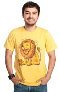 The Lion That Loves Scotch, CSA Images Tees + Threadless Collection