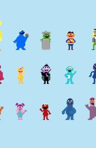 Pixel Street, Shop All Sesame Street Designs + Threadless Collection
