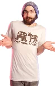 Everyone Poops, Pop Culture + Threadless Collection
