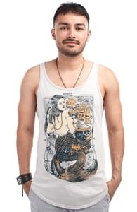 Trust No Mermaid, Guys Tank Tops + Threadless Collection
