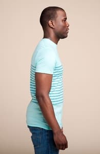 Bike Chain Stripe: Guys Pima Pocket Tee, New and Top Selling Bike T-Shirts + Threadless Collection