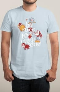Be Nice, Brian's Designs + Threadless Collection