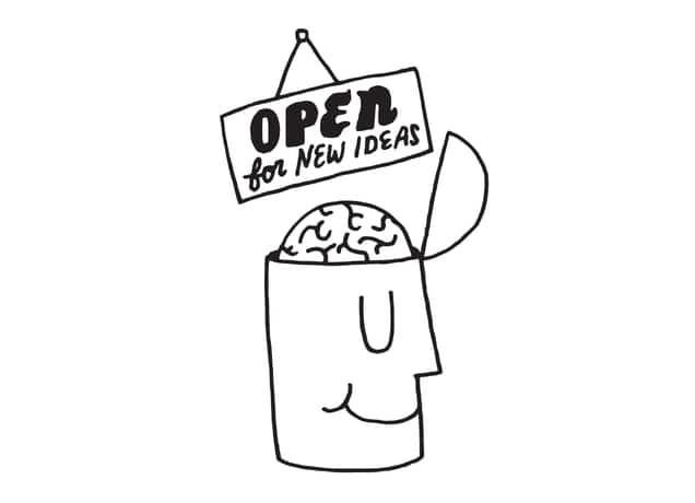 Open For New Ideas By Will Bryant Threadless