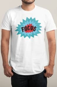 Focus, Will's Designs + Threadless Collection